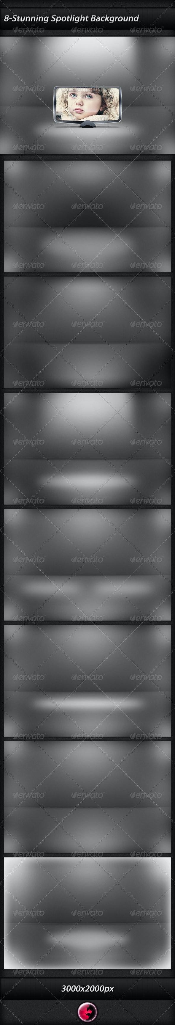 Eligant Floor Spotlight Background - 3D Backgrounds