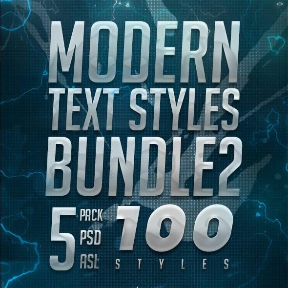 Modern Text Styles Bundle 2