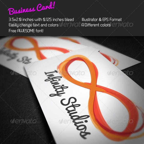 Infinity Business Card