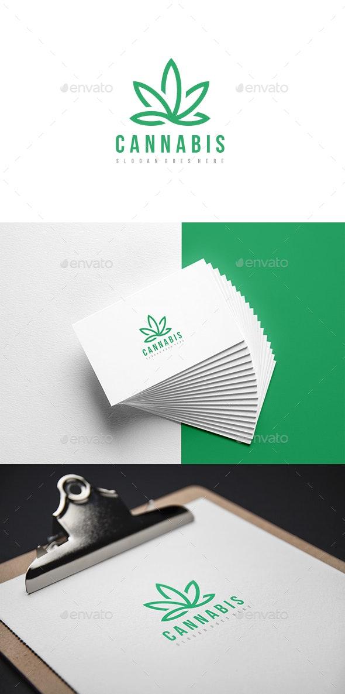 Cannabis Logo - Abstract Logo Templates