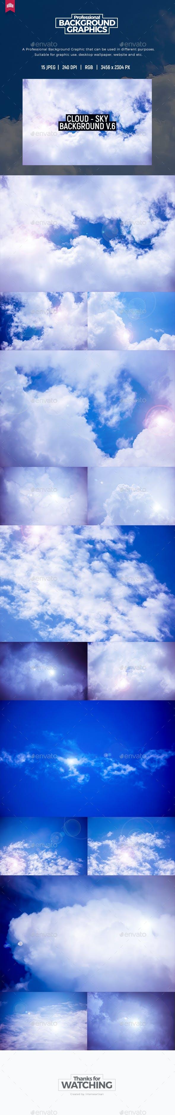 Cloud - Sky Background V.6