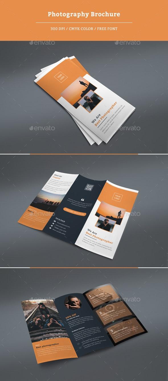 Photography Tri-fold brochure - Corporate Brochures