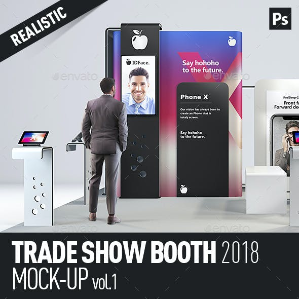 Trade Show Booth Mock-Up vol.1