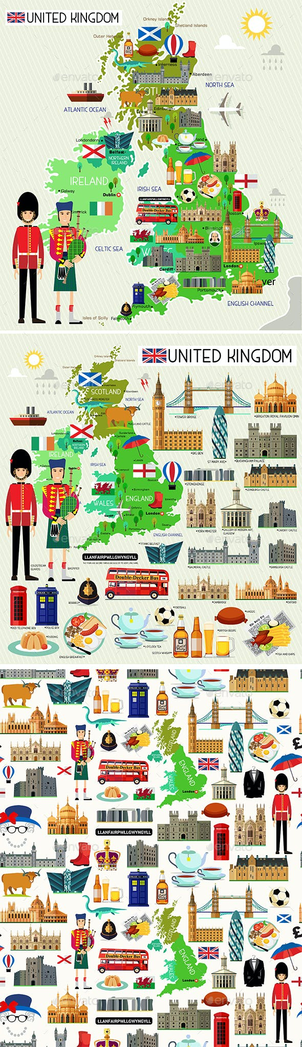 United Kingdom Travel Set