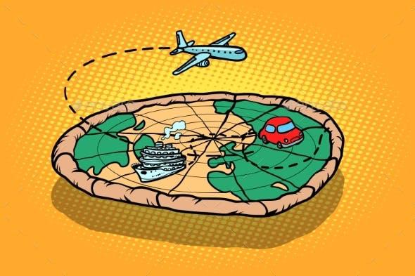 Travel Tourism Concept