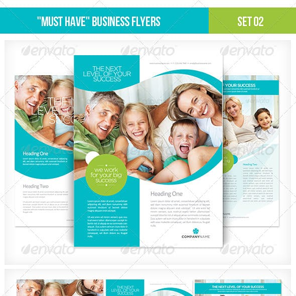 """Must Have"" Business Flyers - Set 02"