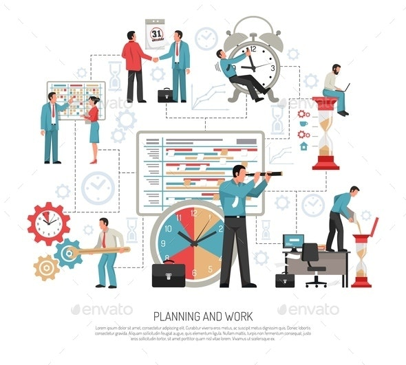 Planning Flat Concept - Concepts Business