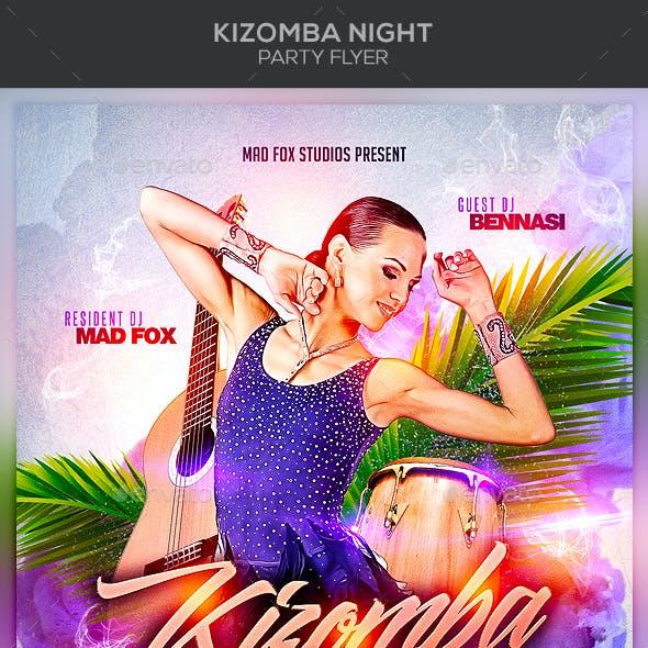 Kizomba Night Party Flyer
