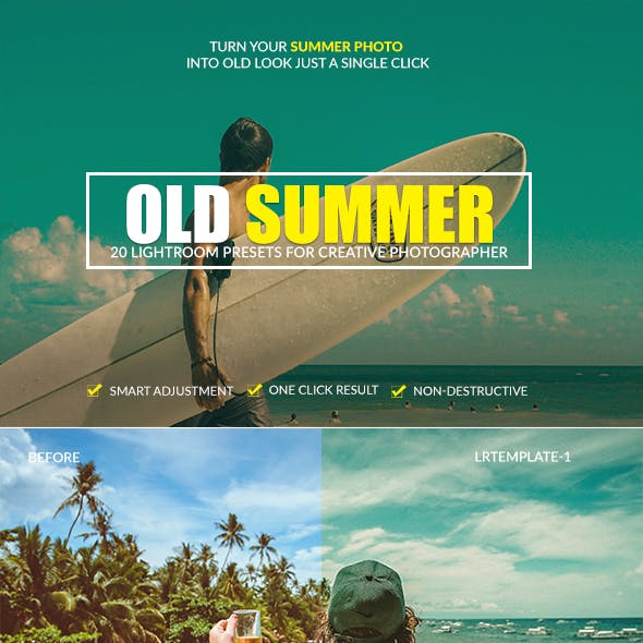 Old Summer Lightroom Presets