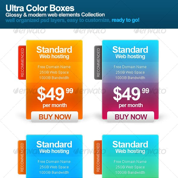 Ultra Color Boxes