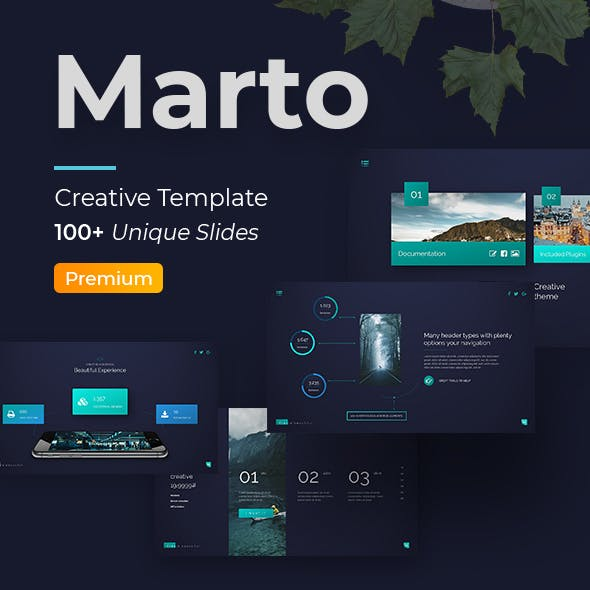 Marto Premium Keynote Template