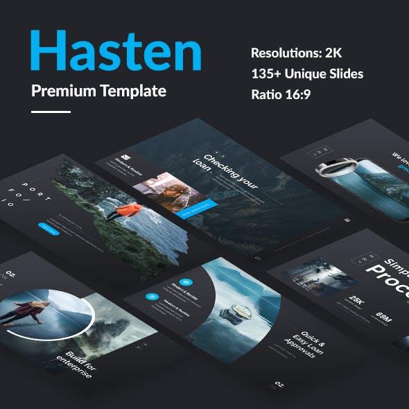 Hasten Premium Design Keynote Template