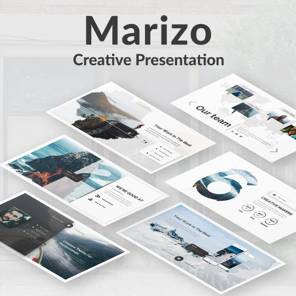 Marizo Creative Keynote Template