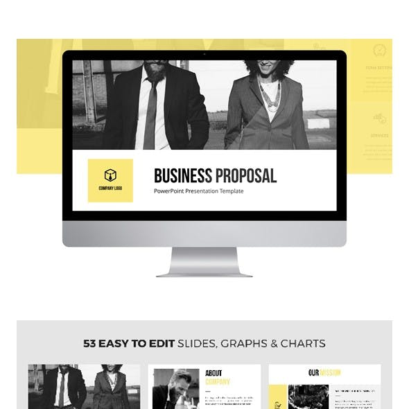 Business Proposal PPT Template