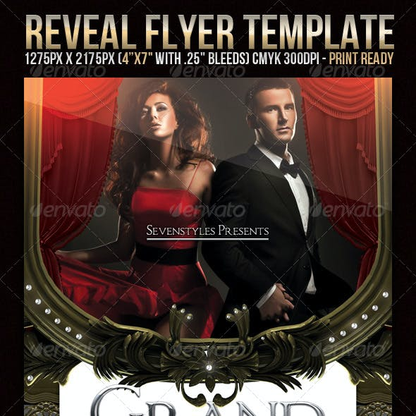 Reveal Flyer Template