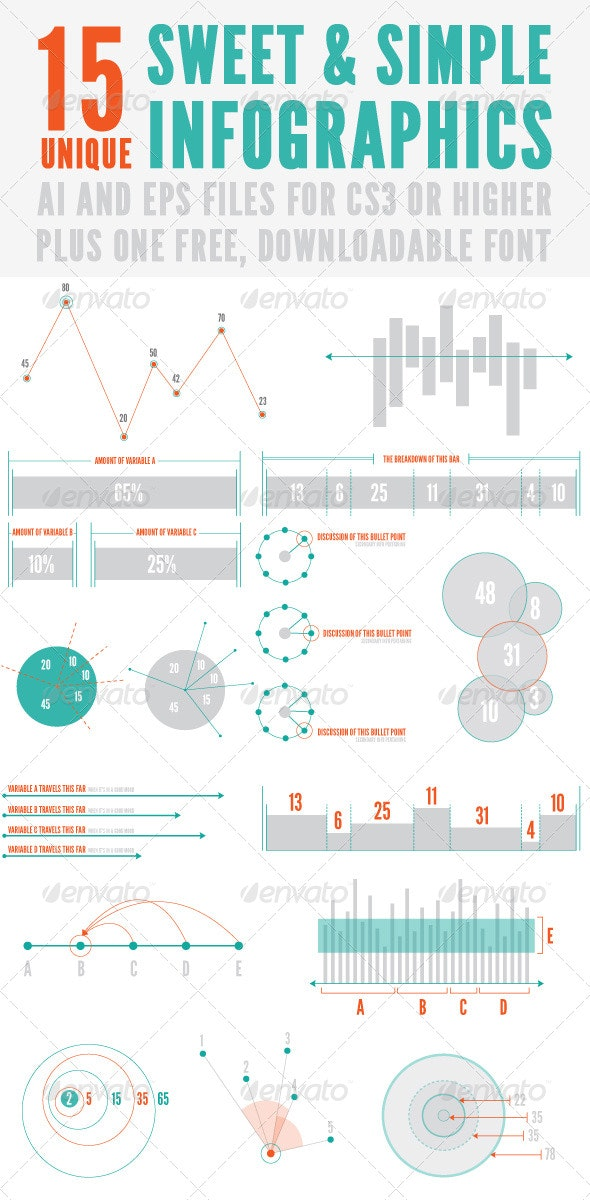 Sweet and Simple Infographics - Infographics