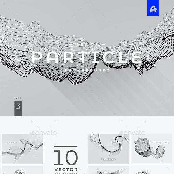 Particle Background vol 3