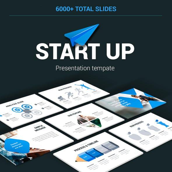 Start up investor Powerpoint Template