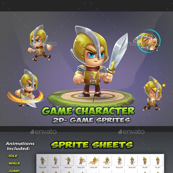 Knight Game Character Sprites 02