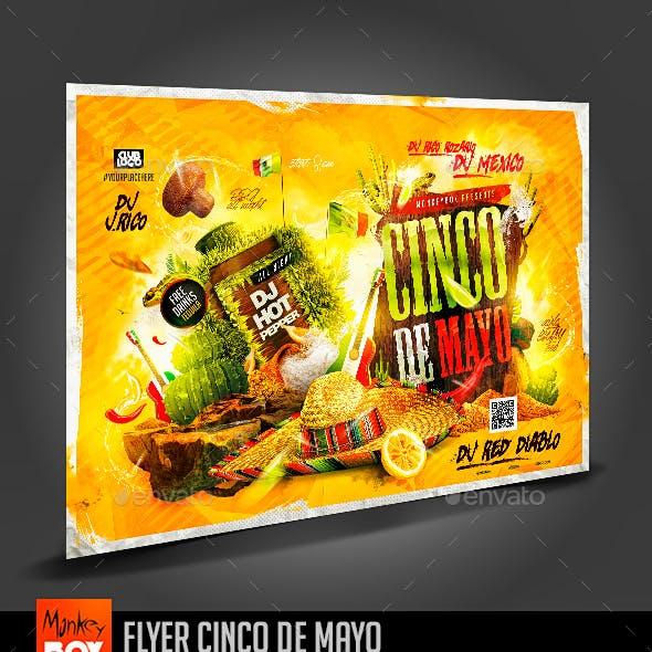 Flyer Cinco de Mayo