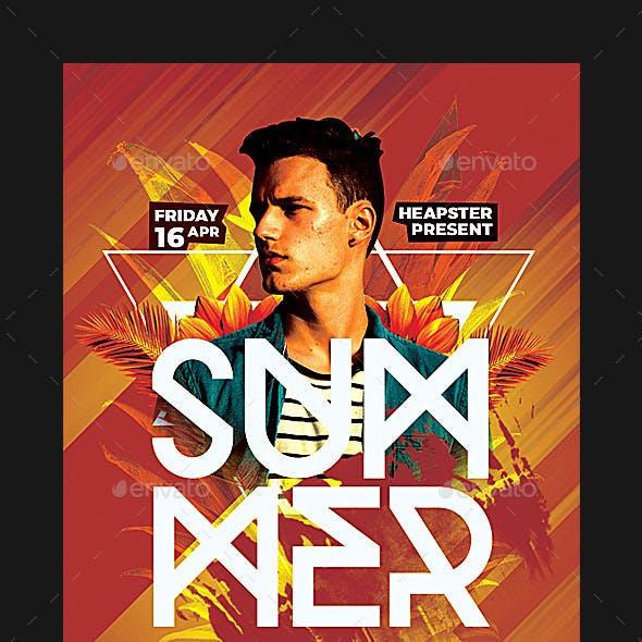 Dj Summer Party Flyer