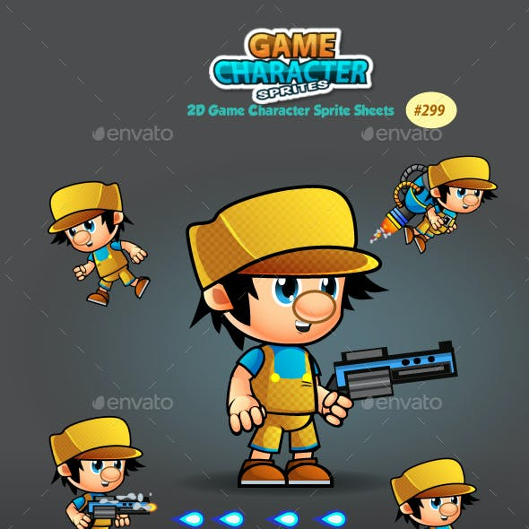 2D Game Character Sprites 299