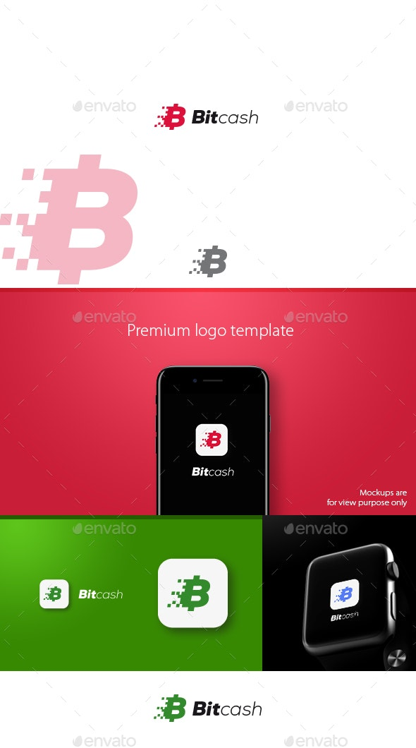 Bitcash Logo - Symbols Logo Templates