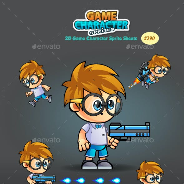2D Game Character Sprites 290