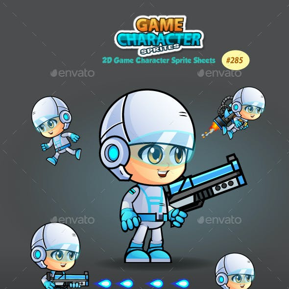 2D Game Character Sprites 285