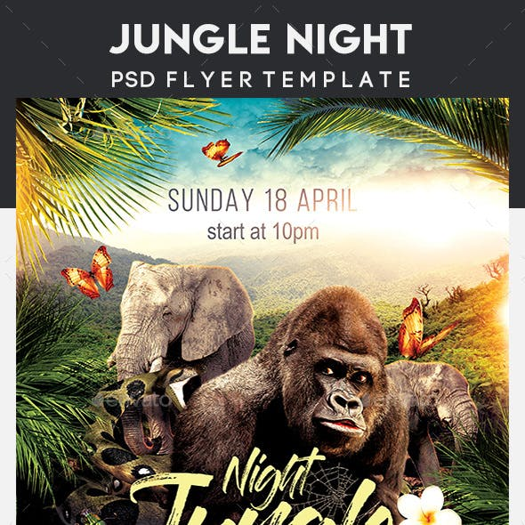 Jungle Night Flyer