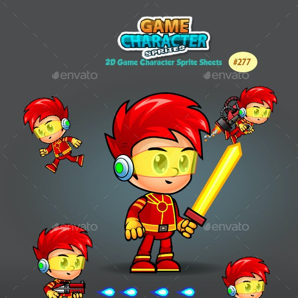 2D Game Character Sprites 277