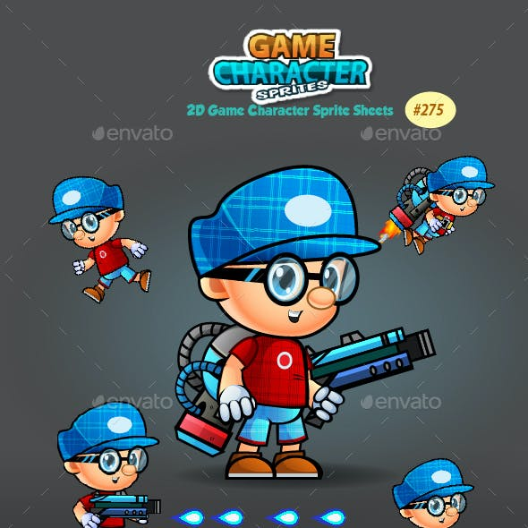 2D Game Character Sprites 275
