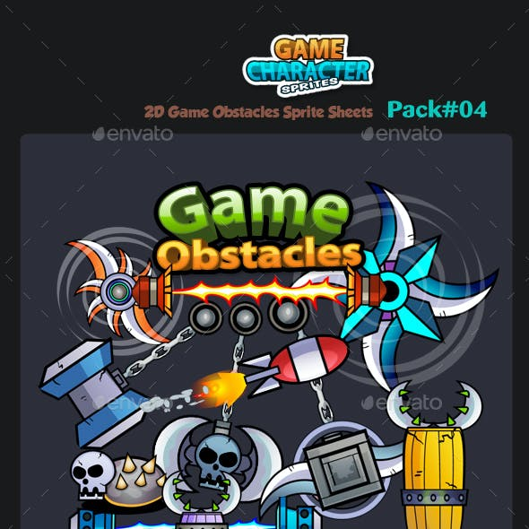 2D Game Obstacles 04