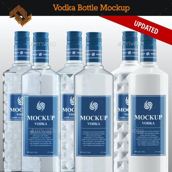 Vodka Bottle Mockup Vol. 5