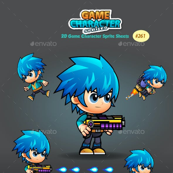 2D Game Character Sprites 262
