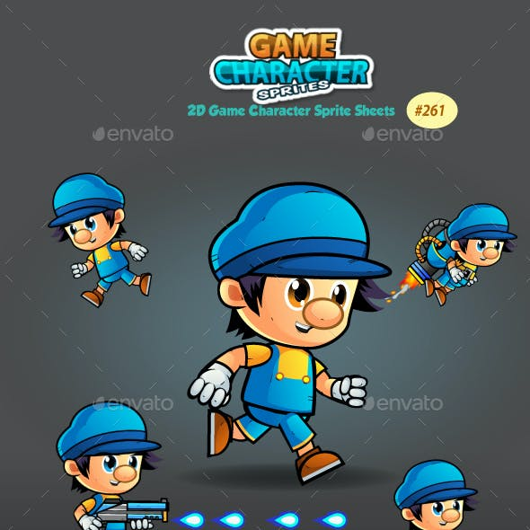 2D Game Character Sprites 261
