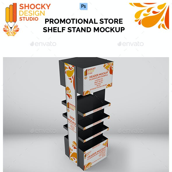 Promotional Store Shelf Stand