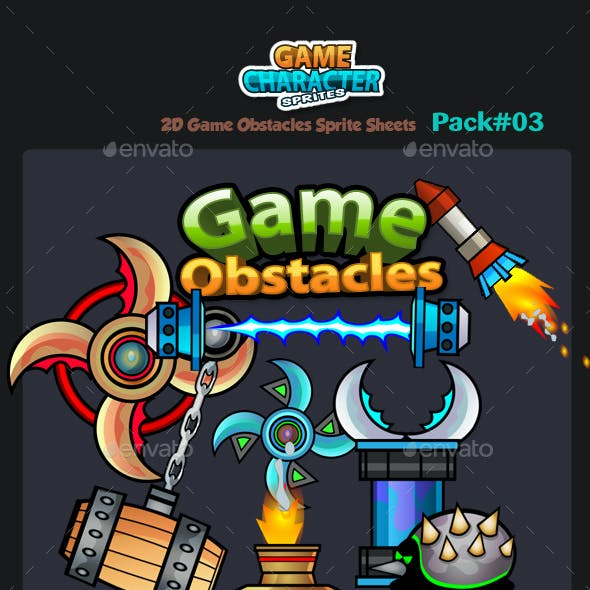 2D Game Obstacles 03