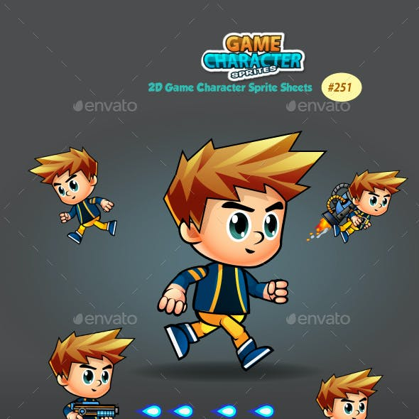 2D Game Character Sprites 251