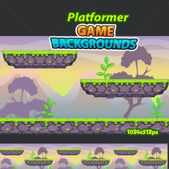 Platformer Game Background 19