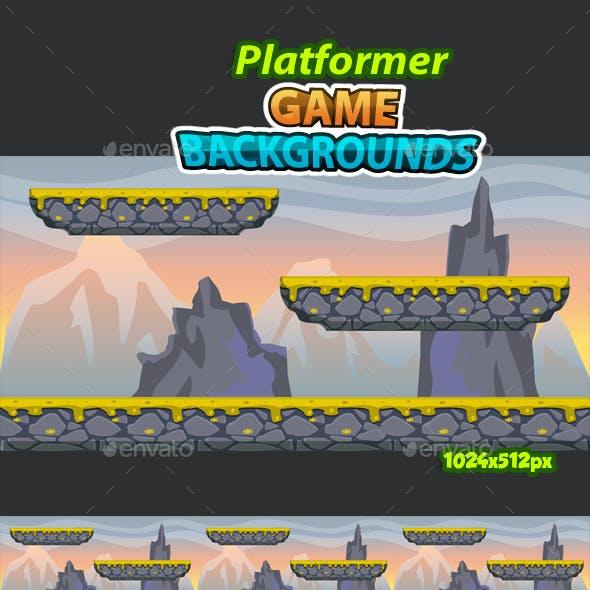 Platformer Game Background 15