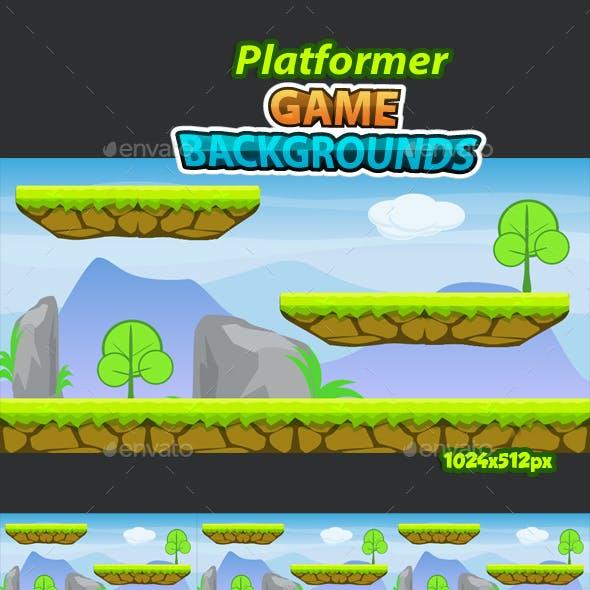 Platformer Game Background 14
