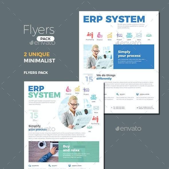 ERP Flyer Templates