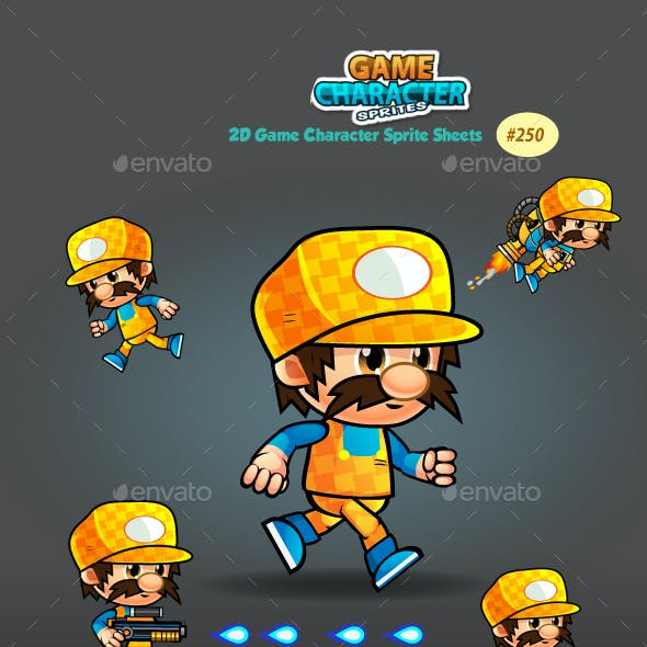 2D Game Character Sprites 250