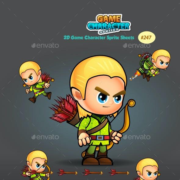 Elf 2D Game Character Sprites 247