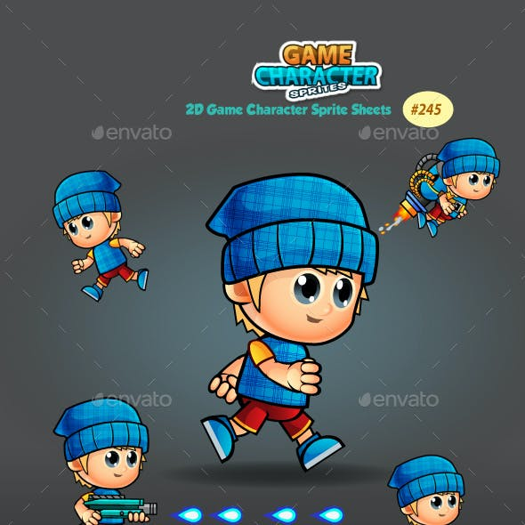 2D Game Character Sprites 245