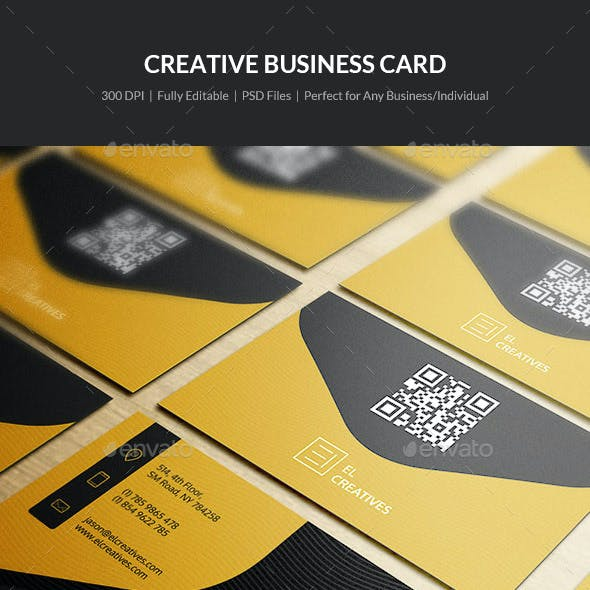Creative Business Card - 13