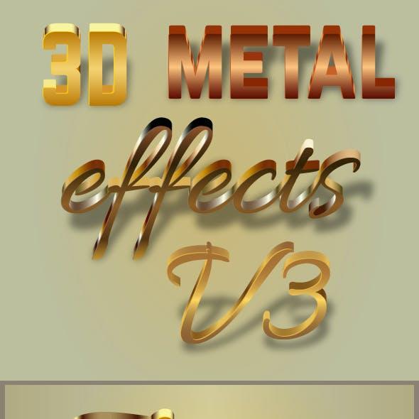 Metallic Styles for Illustrator v3