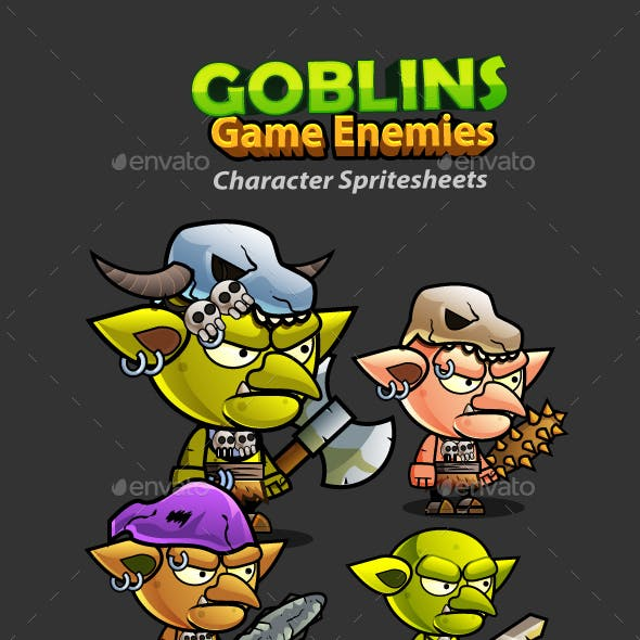 Goblins 2D Game Character Sprites 241