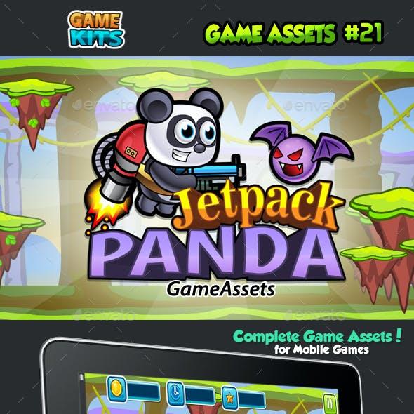 Jetpack Panda Game Assets 21